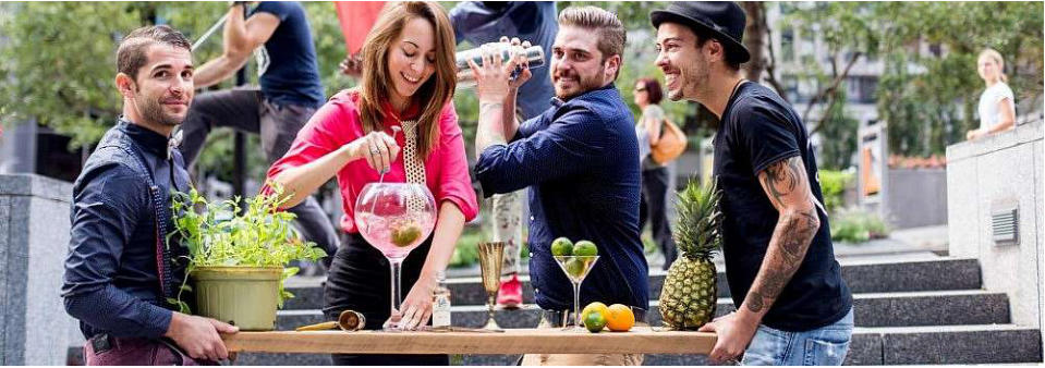 team building mixology classes Toronto